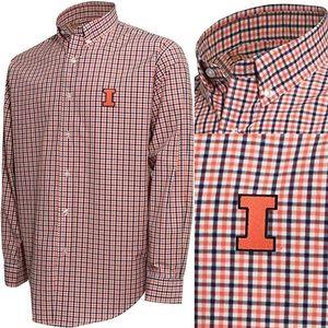 NCAA Men's Campus Specialties LS Check Shirt XXL